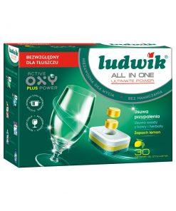 Chế phẩm làm sạch dùng cho máy rửa bát Ludwik - 30 Viên