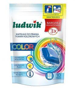 Chế phẩm làm sạch quần áo màu dùng cho máy giặt Ludwik